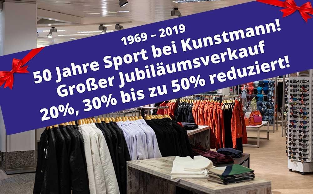 50 Jahre Sport bei Kunstmann!